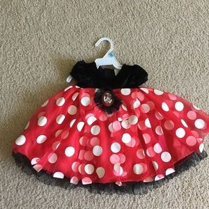 Disney Baby Minnie Mouse Costume Sz 6-12 months